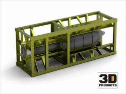 画像3: オレンジホビー[G35-015]1/35WWII独 28cmネーベルベルファーロケット砲弾(木枠付き)セット