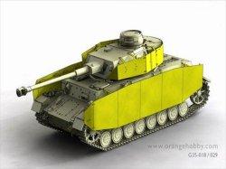 画像3: オレンジホビー[G35-029]1/35WWII独 IV号戦車H/J型 シュルツェンセット(DML用)