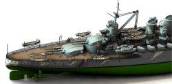 画像1: オレンジホビー[N07-160]1/700 WWII イタリア海軍戦艦カイオ・ドゥイリオ 1941