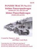 [PANZER_TRACTS_13-1]軽装甲車(Sd.Kfz.221/222/223)/軽無線装甲車(260/261)