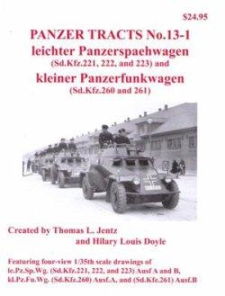 画像1: [PANZER_TRACTS_13-1]軽装甲車(Sd.Kfz.221/222/223)/軽無線装甲車(260/261)