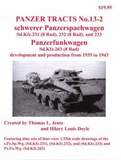 画像1: [PANZER_TRACTS_13-2]重装輪装甲車(sd.kfz.231、232、233)及び無線装甲車sd.kfz.263その開発と生産 1935-1943