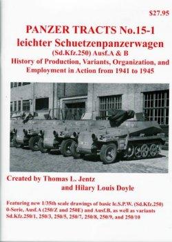 画像1: [PANZER_TRACTS_15-1]Ieichter Schuetzenpanzerwagen(Sd.Kfz.250)