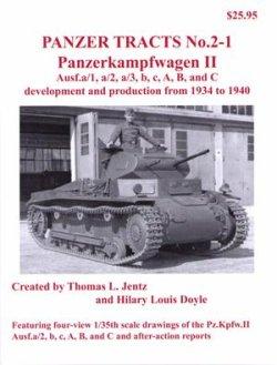 画像1: [PANZER_TRACTS_2-1]Pz.Kpfw.II Ausf.a/1 to C