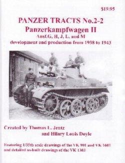 画像1: [PANZER_TRACTS_2-2]Panzerkampfwagon II Ausf.G H J L  and M