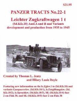 画像1: [PANZER_TRACTS_22-1]Leichter Zugkraftwagen 1t (Sd.Kfz10)and Variants