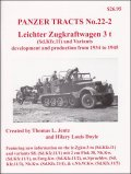 [PANZER_TRACTS_22-2]Leichter Zugkraftwagen 3 t (Sd.Kfz.11) and Variants