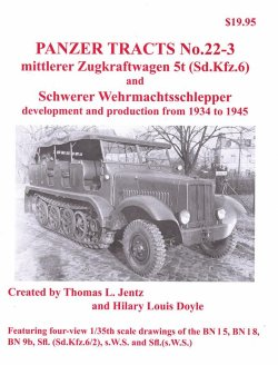 画像1: [PANZER_TRACTS_22-3]mittlerer Zugkraftwagen 5t s.W.S. and variants