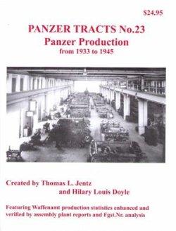 画像1: [PANZER_TRACTS_23]1933年から1945年のおける戦車の生産