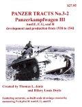 [PANZER_TRACTS_3-2]Panzerkampfwagon III Ausf.E F G  and H