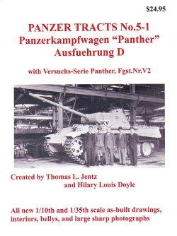 画像1: [PANZER_TRACTS_5-1]Panzerkampfwagen Panther Ausf.D