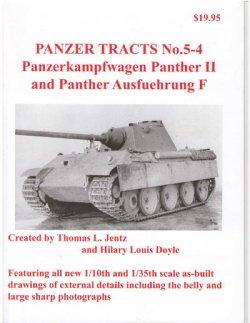 画像1: [PANZER_TRACTS_5-4]パンターII&パンターF型