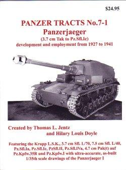 画像1: [PANZER_TRACTS_7-1]Panzerjaeger(3.7cm Tak to Pz.Sfl.Ic)