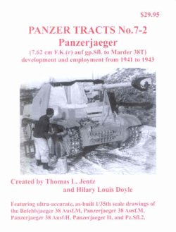 画像1: [PANZER_TRACTS_7-2]Panzerjaeger(Marder I II and 38T.)