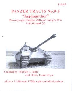 画像1: [PANZER_TRACTS_9-3]ヤークトパンター G1&G2型