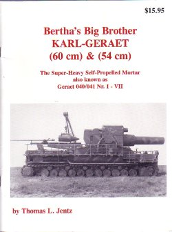 画像1: [PANZER_TRACTS_KARL]Bertha's Big Brother KARL-GERAET(60&54cm)