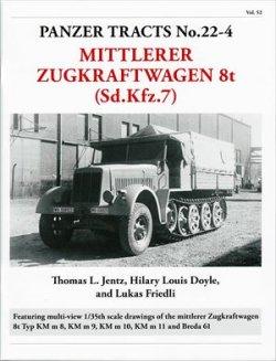 画像1: [PANZER_TRACTS_22-4]Sd.Kfz.7 8トンハーフトラック