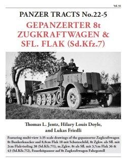 画像1: [PANZER_TRACTS_22-5]8トンハーフトラック派生車 装甲タイプ&対空自走砲