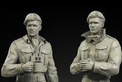 画像2: Panzerart[FI35-047]1/35イギリス陸軍 RAC 戦車指揮官&操縦手セット 北アフリカ/イタリア戦線