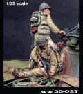 Paracel Miniatures[WW35-027]1/35 WWII日本帝国陸軍 戦車跨乗兵セットB 車上の跨乗兵