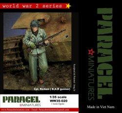 画像1: Paracel Miniatures[WW35-020]1/35 WWII米支援射撃の指示を待つBARガンナー ライベン兵長