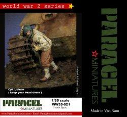 画像1: Paracel Miniatures[WW35-021]1/35 WWII米「頭を下げろ!」移動しながら注意するアプハム兵長