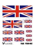 Passion Models[P35H-002]1/35 イギリス国旗(プラシート印刷)