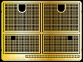 Passion Models[P35-087]Tiger I 中期〜後期型用エンジングリルセット(タミヤMM35146/MM35177/MM35194/MM35202用)
