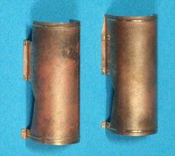 画像2: Passion Models[P35-109]1/35 ティーガーI型排気管カバー中期型/後期型(タミヤMM35146/35194/35202/35177用)