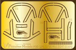 画像1: Passion Models[P35-125]1/35 M4A3シリーズ ライトガード エッチングセット(2枚入)(タミヤM4A3シリーズ MM35250/35251/35346用)