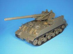 画像2: Passion Models[P35-128]1/35 M40 ビッグショット 155mm自走砲 エッチングセット(タミヤMM35351用)