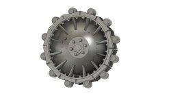 画像2: Passion Models[P35T-005]1/35  ケッテンクラート3D起動輪&スプリングセット[対応キット:タミヤMM35377]