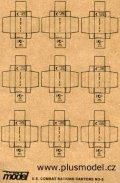 PlusModel[PM011]1/35WWII米 段ボール箱 #3(戦闘糧食)