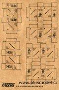 PlusModel[PM013]1/35WWII英 段ボール箱