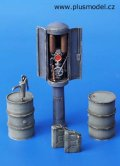 PlusModel[PM056]1/35WWII ガソリンスタンドの給油器