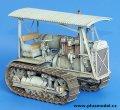 PlusModel[PM064]1/35WWII米 装軌トラクターM-1(キャタピラーD6)(フルキット)