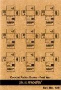 PlusModel[PM128]1/35米 野戦糧食段ボール箱(戦後)#1