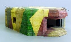 画像1: PlusModel[PM493]German artillery bunker