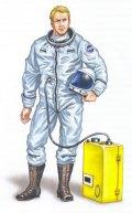 PlusModel[AL4005]1/48米 X-15超音速実験機 パイロット