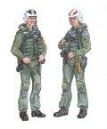 PlusModel[AL4018]1/48米 F-4ファントム戦闘機 クルー(2体セット)