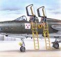 PlusModel[AL4040]1/48F-105F/G 乗降ラダー(インジェクションキット)