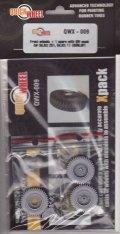 QuickWheel[QWX-009]sd.kfz.251 & 11フロントホィール (Dunlop) (スペア付)