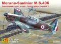 RS MODELS[RSM92118]1/72 モラーヌソルニエMS.406(フランス空軍)