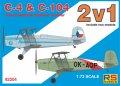 RS MODELS[RSM92204]1/72 C4&C104チェコ練習機ダブルキット