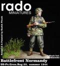 Rado Miniatures[RDM35002] 1/35 WWII独 武装親衛隊第25装甲擲弾兵連隊 兵士 1944夏