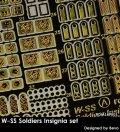 Rado Miniatures[RDM16PE01]1/16 WWII 独 武装親衛隊隊員記章セット