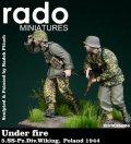Rado Miniatures[RDM35006] 1/35 WWII独 第5SS装甲師団ヴィーキング ポーランド1944(2体セット)