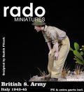 Rado Miniatures[RDM35007]1/35 WWII英 第8軍兵士 イタリア 1943-45 #1