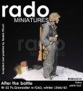 Rado Miniatures[RDM35010]1/35 SS擲弾兵 w/G43 冬季 1944/45