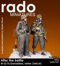 Rado Miniatures[RDM35012]1/35 SS擲弾兵 冬季 1944/45(2体セット)